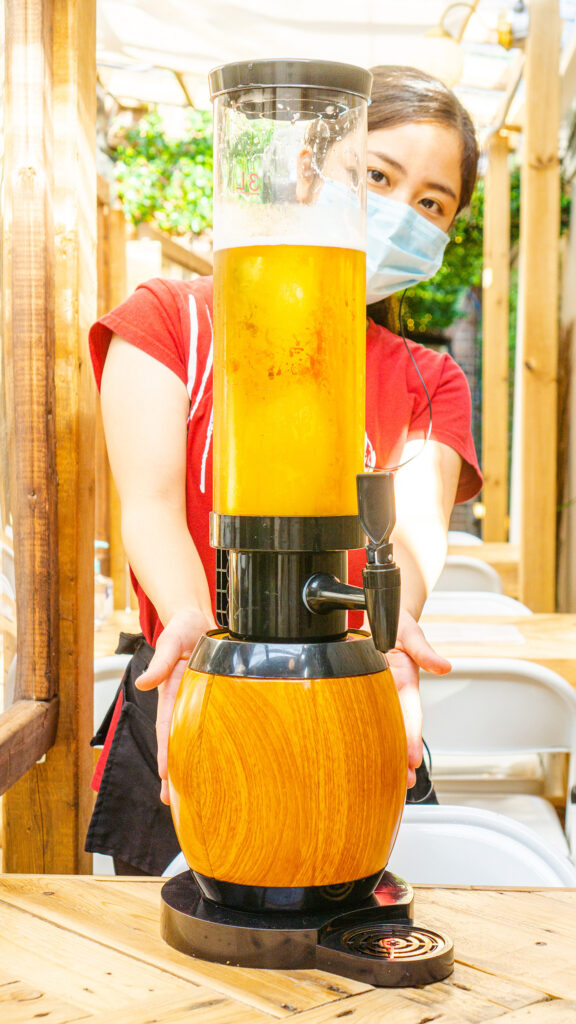 [RYUS Back Patio Grand Opening] Announcing RYUS Giant 100oz Tower Pitcher!